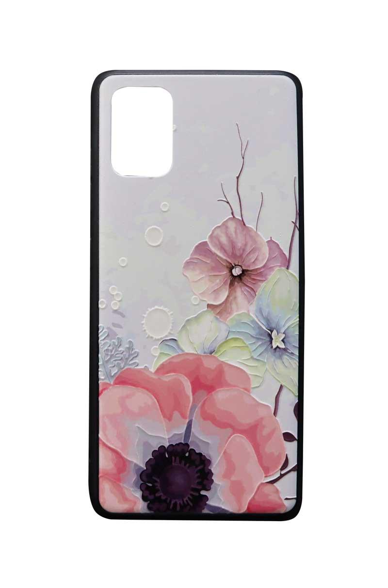 تصویر از کاور هولدردار طرح گل مناسب برای گوشی موبایل سامسونگ Galaxy A51