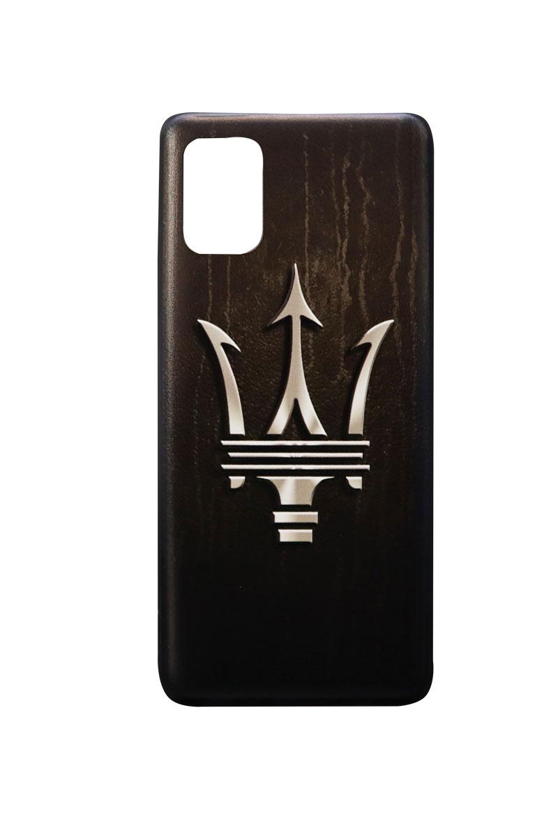 تصویر از کاور هولدردار طرح مازراتی مناسب برای گوشی موبایل سامسونگ Galaxy A31